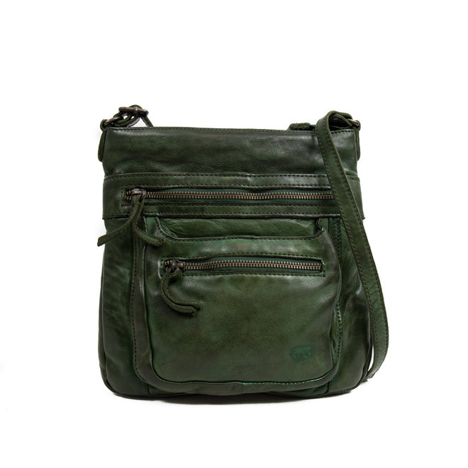 Schoudertasje 'Marion' - CL 40496 Groen
