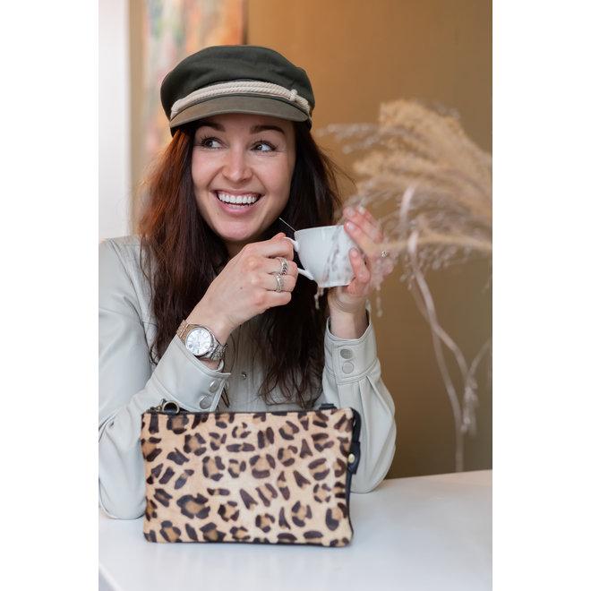 Portemonnaitasche  'Uma' - Cheetah HH30996