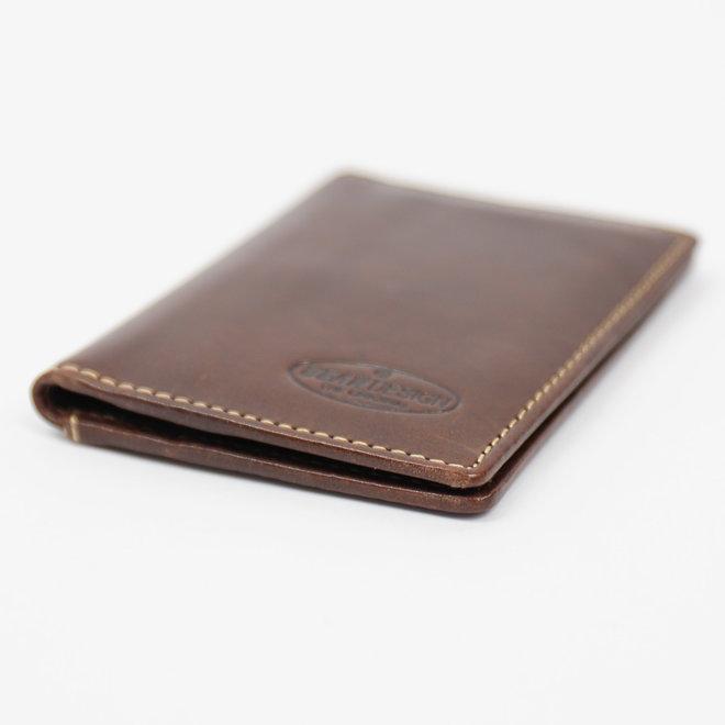Pasjesmap/kleine portemonnee RO9171 Bruin