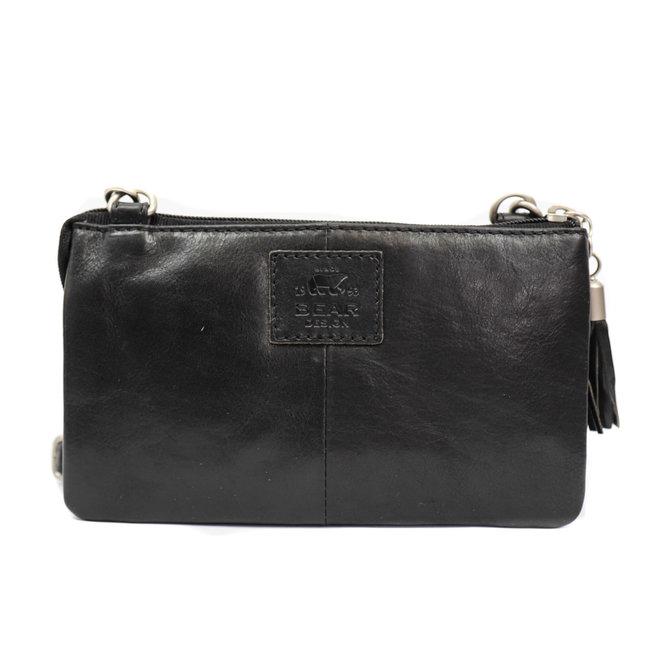 Geldbörse Tasche / Umhängetasche Umi RO4887 Schwarz