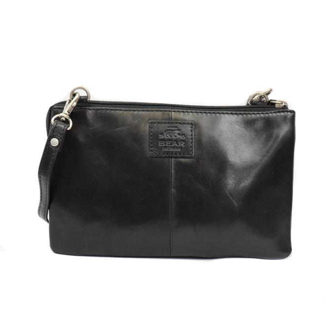 Geldbörse Tasche / Umhängetasche Uma RO30996 Schwarz