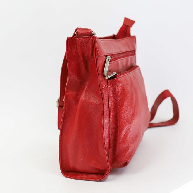 Umhängetasche 'Irene' - Rot B 3126