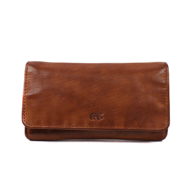 Geldbörse CL 9918 Cognac - RFID/Anti skim