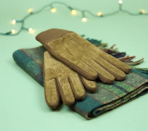Leren handschoenen voor dames en heren