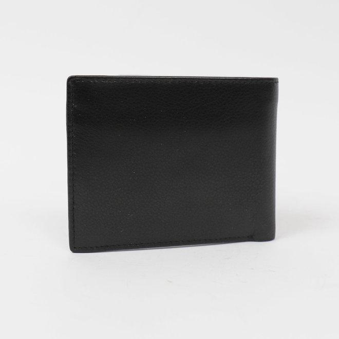 Kleine Billfold laag - FR8731 Zwart
