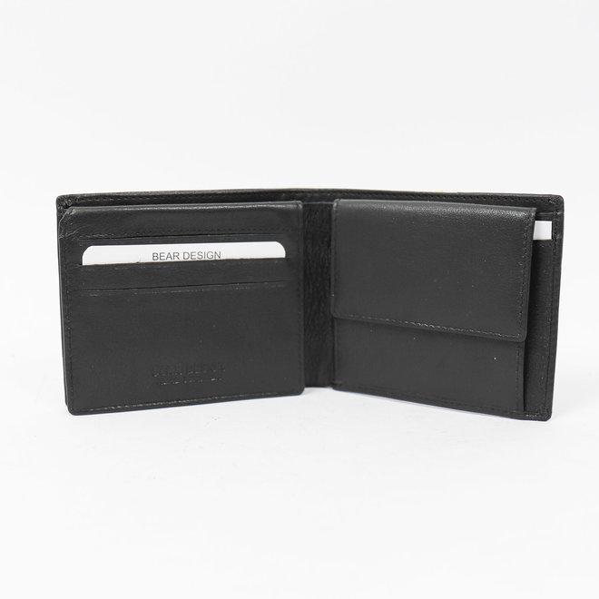 Heren Billfold 'Max' - Zwart FR 9665 RFID