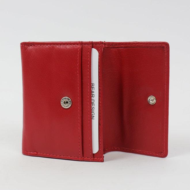 Klein portemonneetje 'Jolie' - Rood FR8460