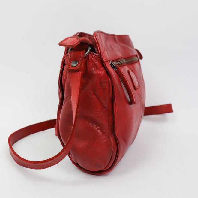 Klein schoudertasje CL35735 Rood - 'Olivia'