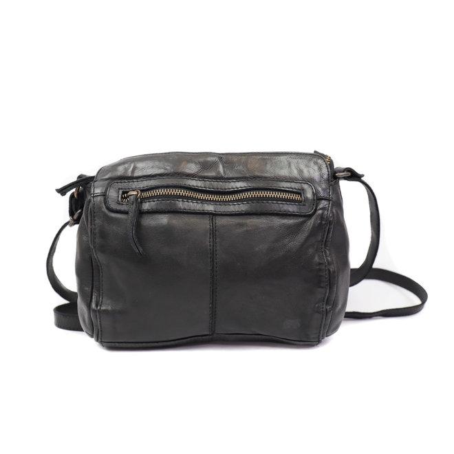 Klein schoudertasje CL35735 Zwart  - 'Olivia'