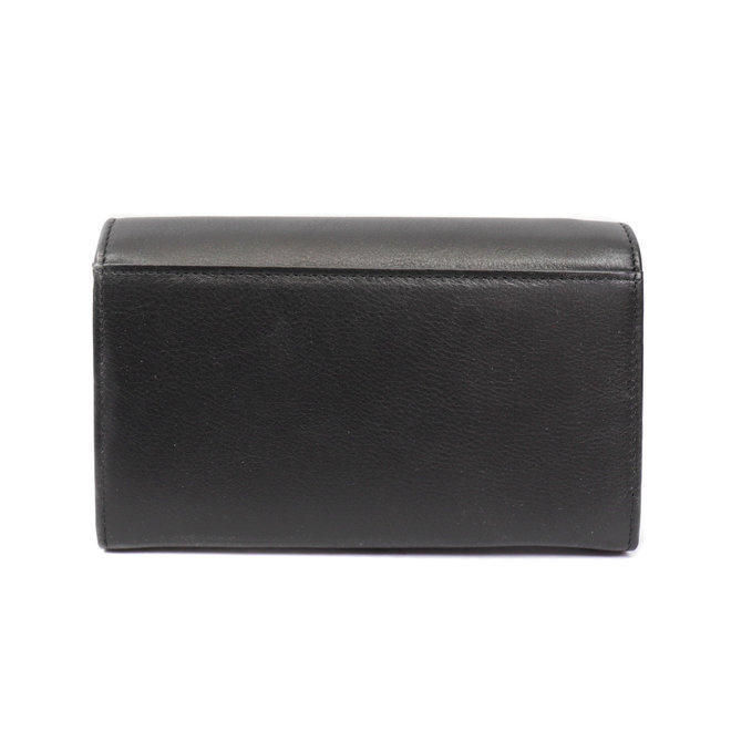 Dames portemonnee met knip - Zwart FR 9925