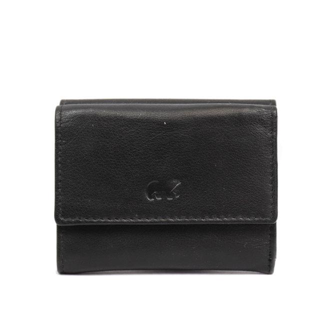 Klein portemonneetje 'Jolie' - Zwart FR8460