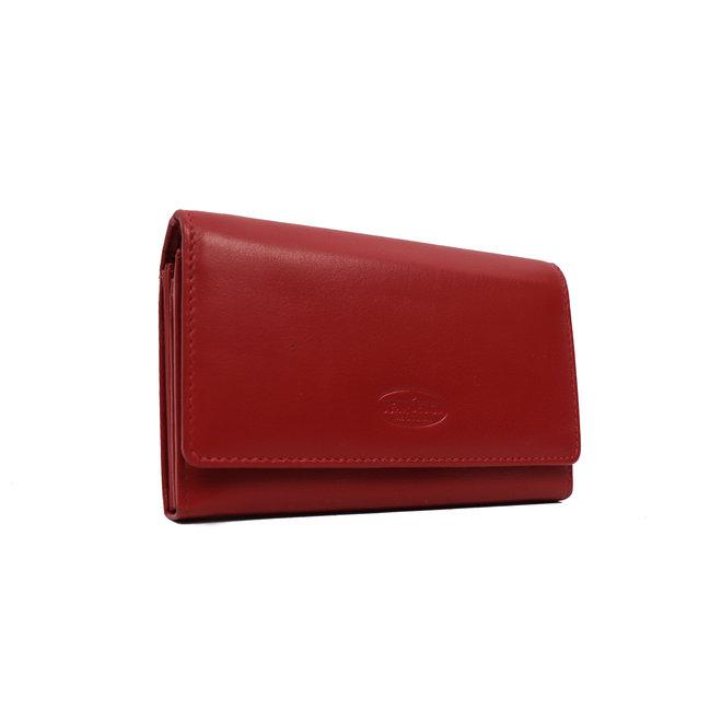 Damenbrieftasche mit Schnitt - Rot FR9925