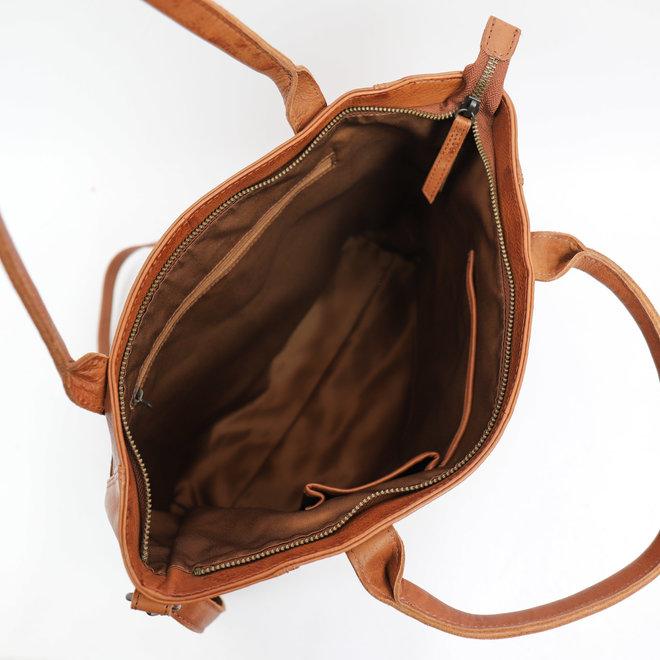 Hand- / Umhängetasche 'Freya' Cognac CL 41286