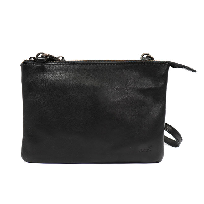 Mini schoudertasje 'Sally' Zwart BL 41317