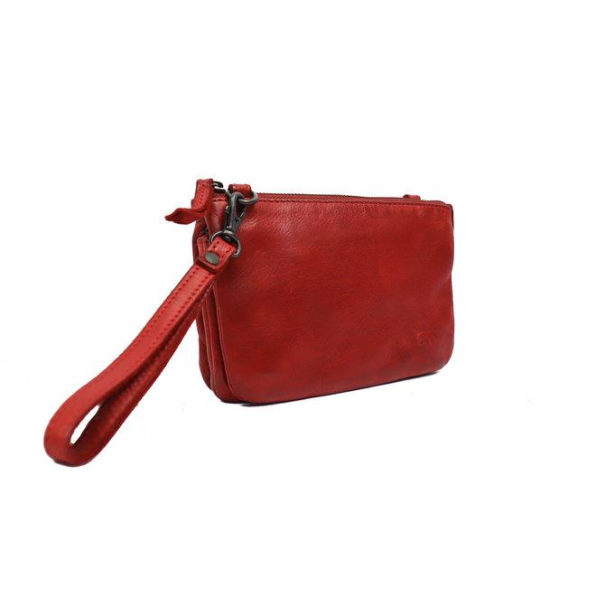 Portemonneetasje 'Umi' - Rood CL 36799
