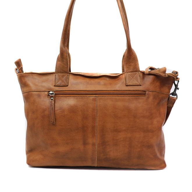 Handtasche / Umhängetasche 'Thera' - Cognac CP 6005