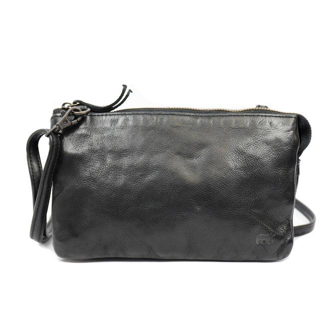 Portemonnee tasje  'Uma' - Zwart CL30996