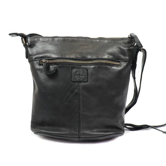 Schoudertasje Robin - Zwart CL36438