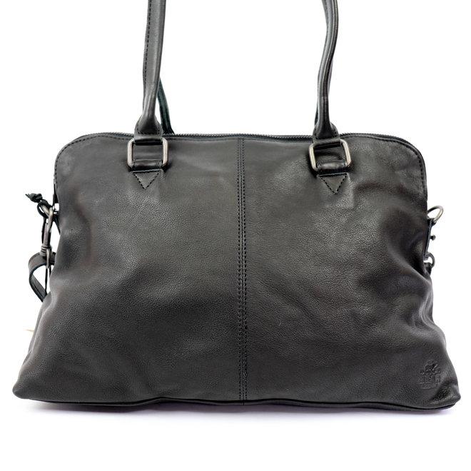 Handtasche/Schultertasche Bona CP1177 Schwarz