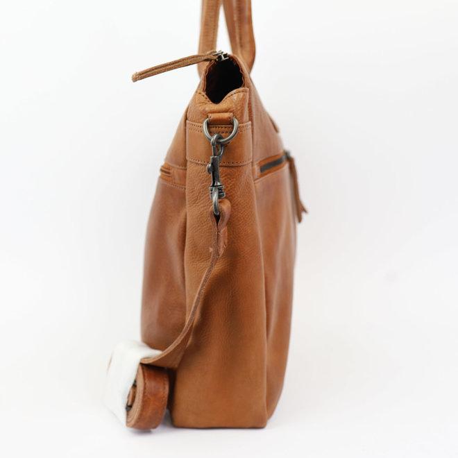 Hand/Schoudertas 'Binni' CP1657 Cognac