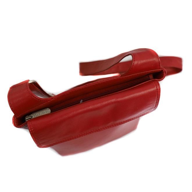 Kleine Schulter/Reisetasche 'Lou' B 6621 Röt