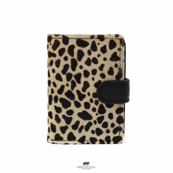 Kleine portemonnee Anti Skim - Black Dot HH 11034