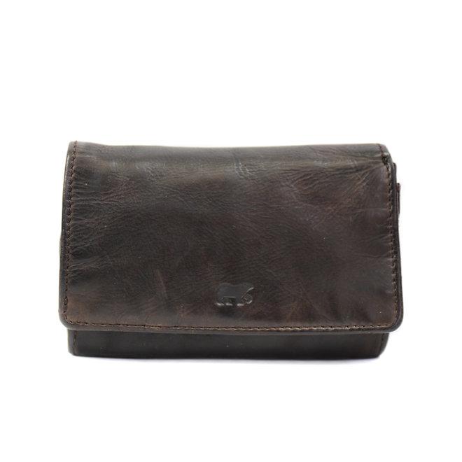 Kleine dames portemonnee - CL 15572 Bruin RFID