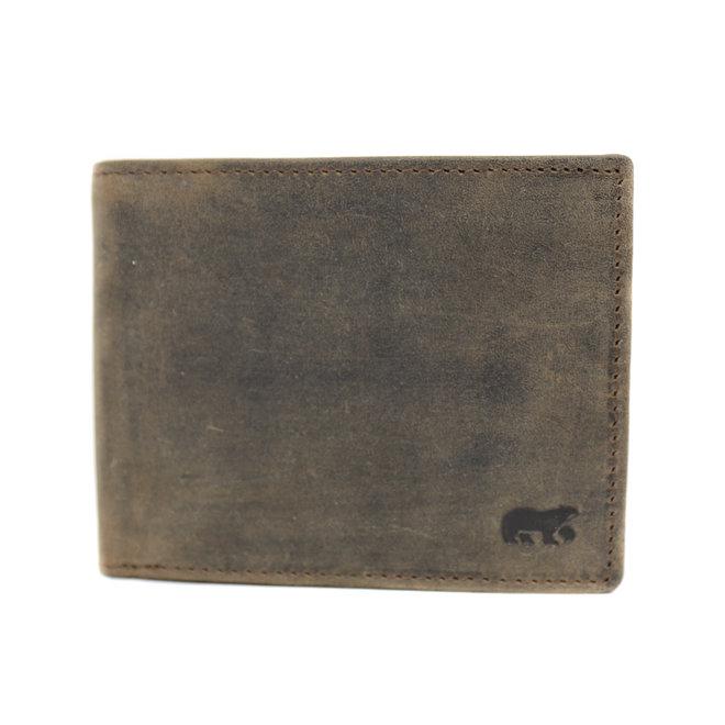 Brieftasche schmal - HD8731 Braun
