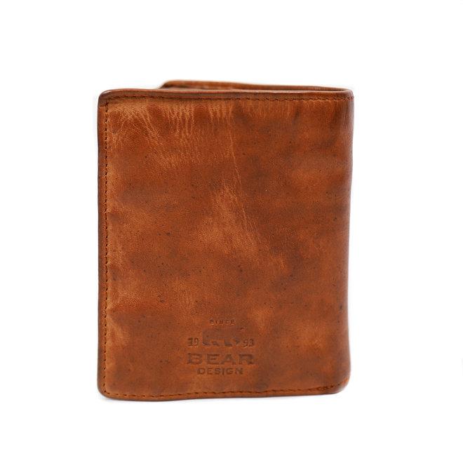 Dunne billfold hoog - CL14985 Cognac