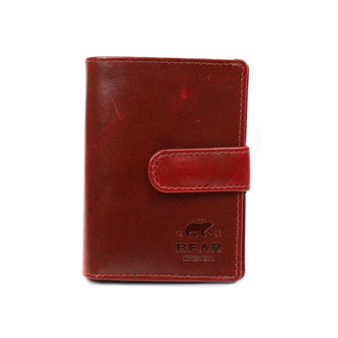 Pasjesmap/Creditcard etui VG 527 Rood