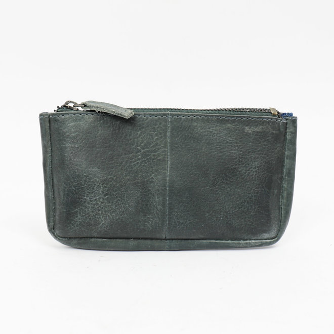 Sleutel/losgeld portemonnee CP7090 - Jeans Blue
