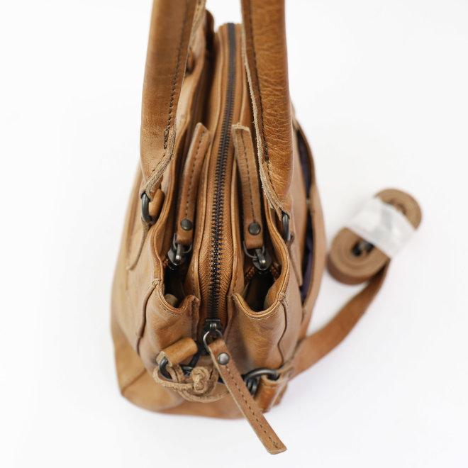 Klein Hand-/Schoudertasje 'Rita' - Taupe CP1201