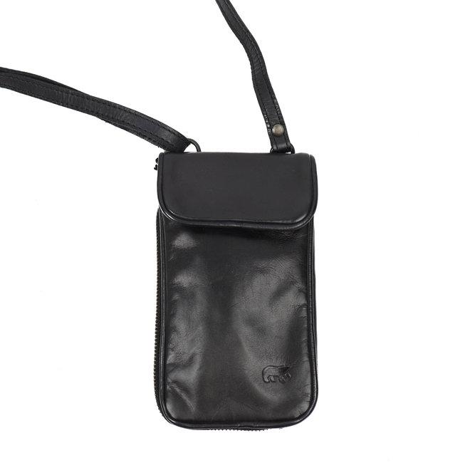 Telefoontasje 'Elske' - CL 41579 Zwart
