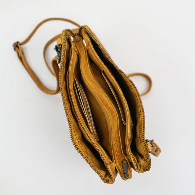 Portemonnaietasche 'Uma' - Okergelb CL30996