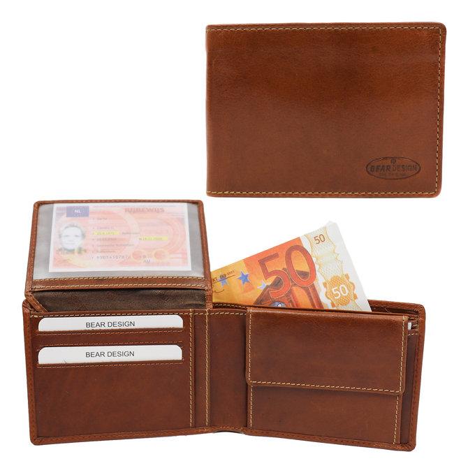 Herren Brieftasche 'Joep' - Cognac RO 7208