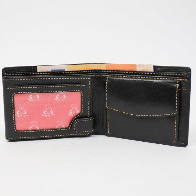 Kleines Herren Brieftasche 'Finn' - RO 8480 Schwarz