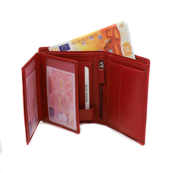 Brieftasche hoch 'Klaas' Röt FR 7252