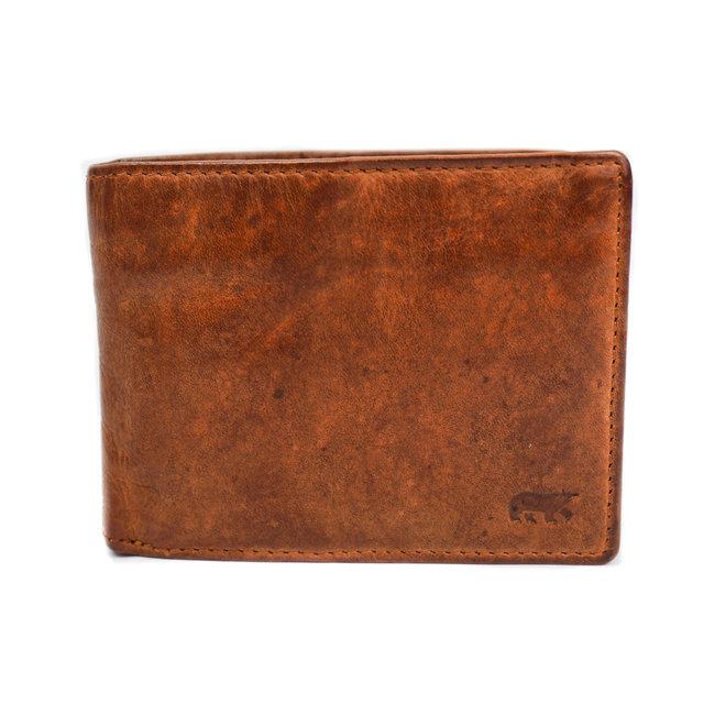 Dunne billfold 'Pim' - CL14966 Cognac