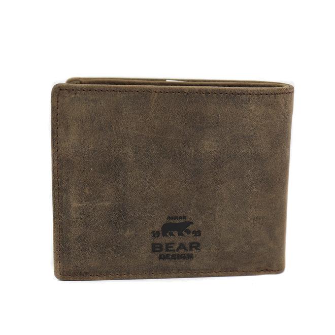 Heren Billfold 'Max'  - Bruin HD 9665 RFID