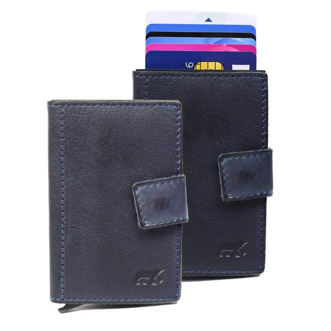 Mini Portemonnee 'Pip' RFID - Blauw CL 15254