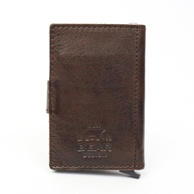 Mini Portemonnee 'Pip' RFID - Bruin CL 15254