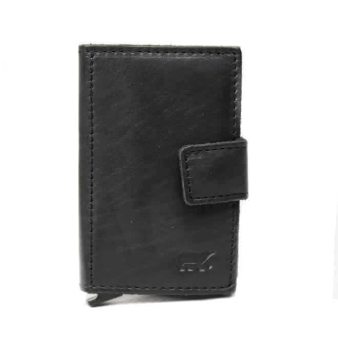 Mini Portemonnee 'Pip' RFID - Zwart CL 15254