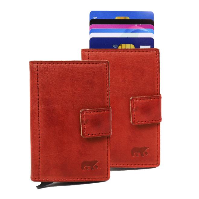 Mini Portemonnee 'Pip' RFID - Rood CL 15254
