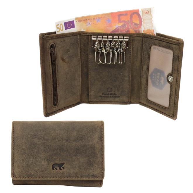 HD918 Sleutel portemonnee 6-haakje