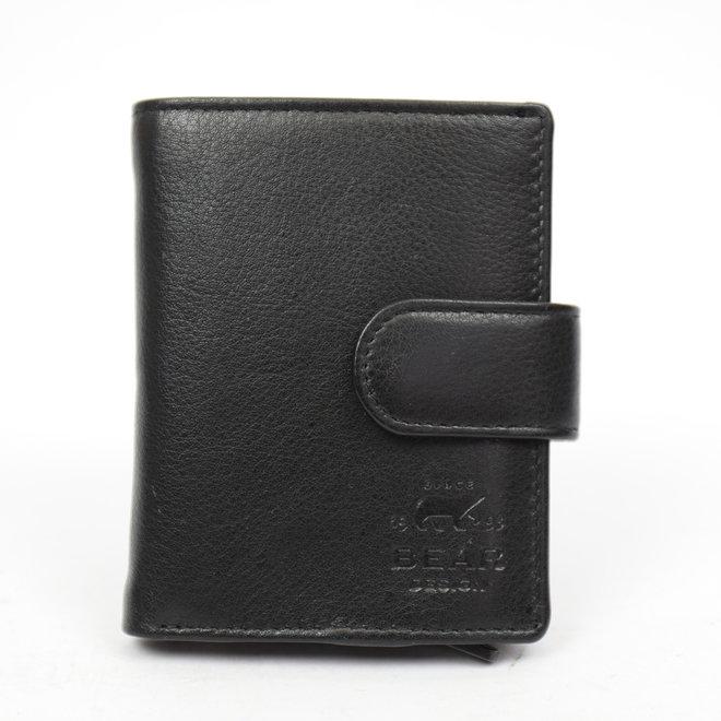 FR15253 Anti Skim Wallet Ritsvak - Zwart Figuretta