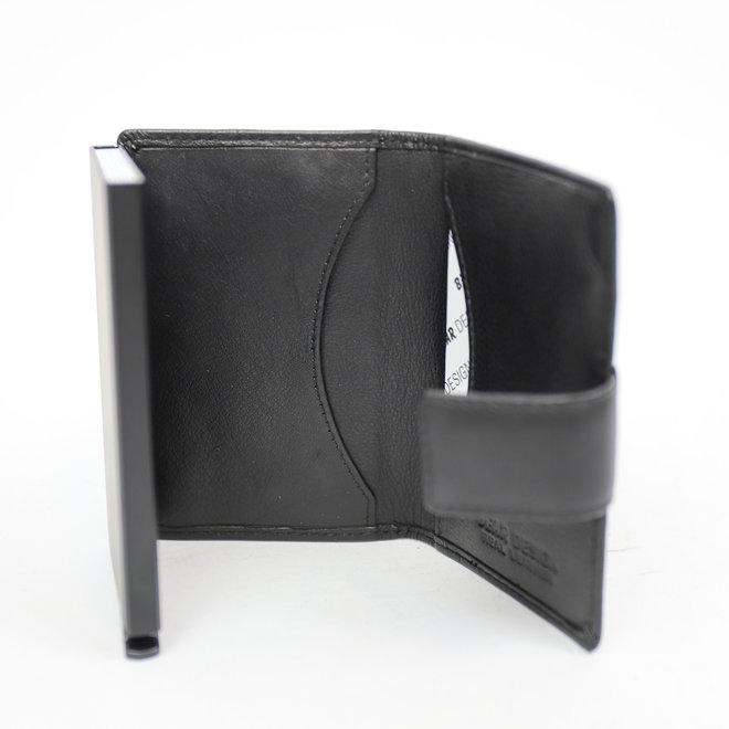 Mini Portemonnee RFID - Zwart FR 15254
