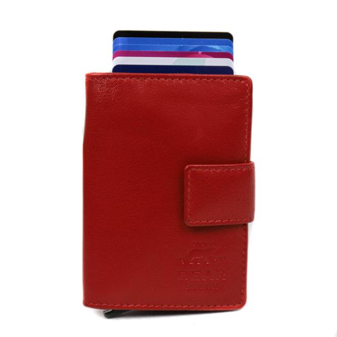 Mini Portemonnee RFID - Rood FR 15254
