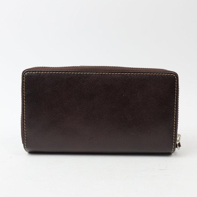 Große Reißverschlusstasche - Braun RO2881