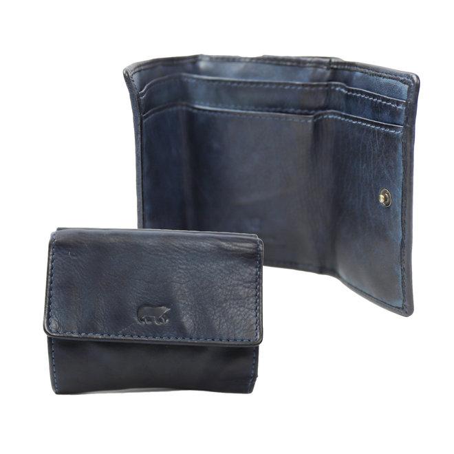 Klein portemonneetje 'Jolie' - Blauw CL14618