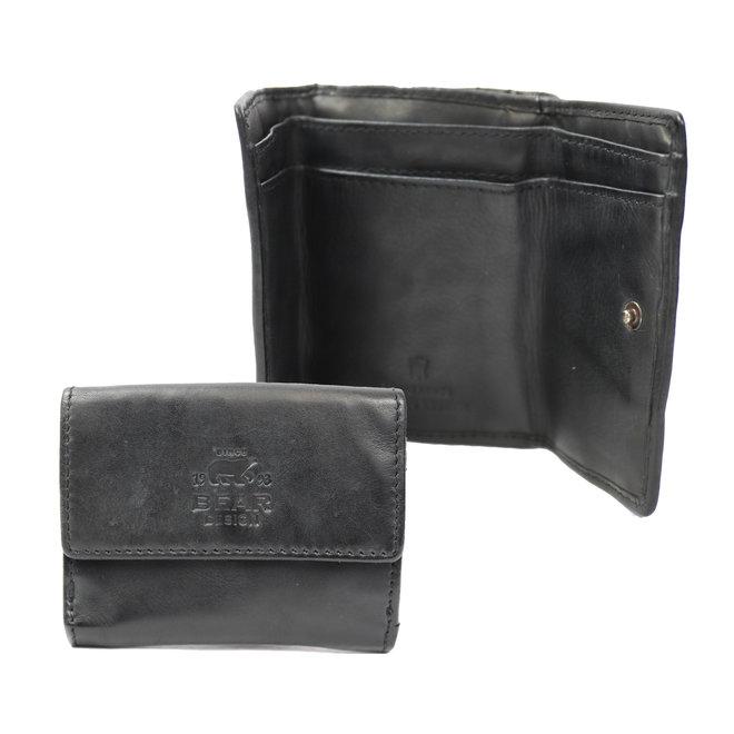 Klein portemonneetje 'Jolie' - Zwart CL14618